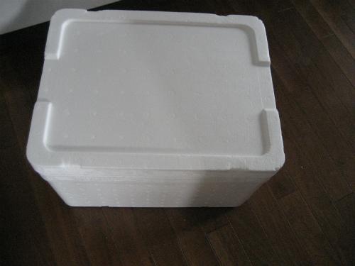 保温用の発泡スチロール箱