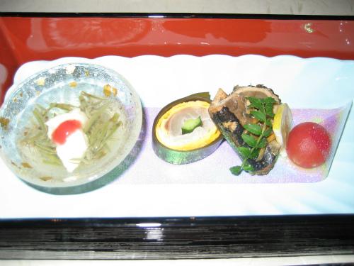 頂いたお寿司は、明石産の魚が中心です