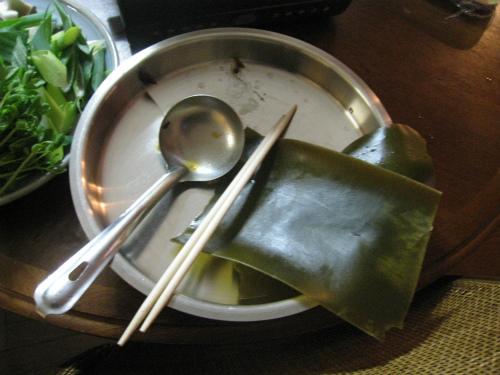 松葉家の夕食