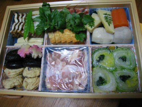 阪急 キッチンエールでうどんすきを注文しました
