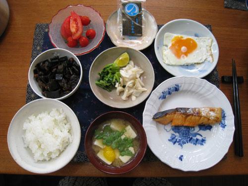 和食 朝ご飯
