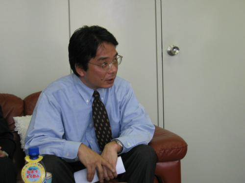 ボシュロム・ジャパン社井上隆久社長