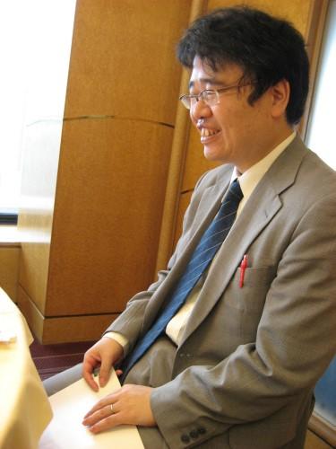 府立大学の北居明助教授