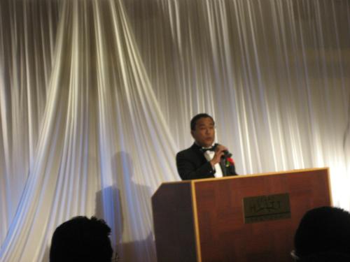 取引先である企業が、創業60周年の記念パーティを開催されました
