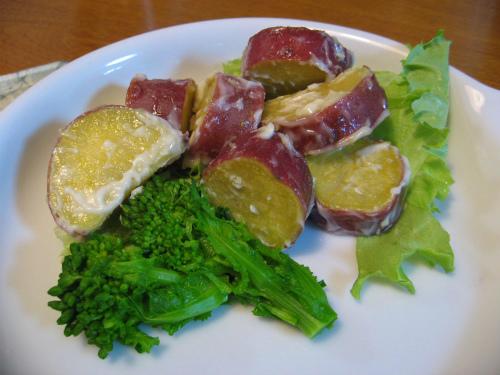 鳴門金時芋のサラダ