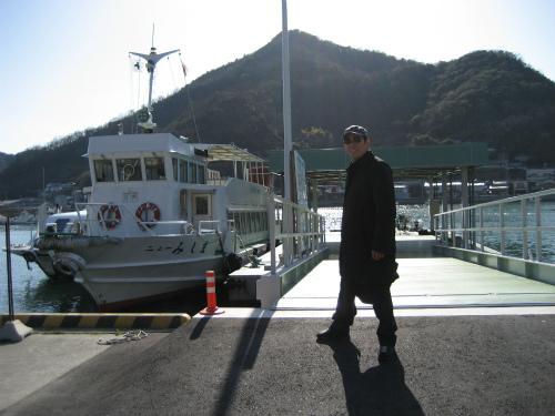 日生港を散策します