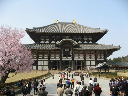 世界文化遺産の大仏殿
