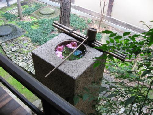 奈良町の伝統的な町家を再現した家です