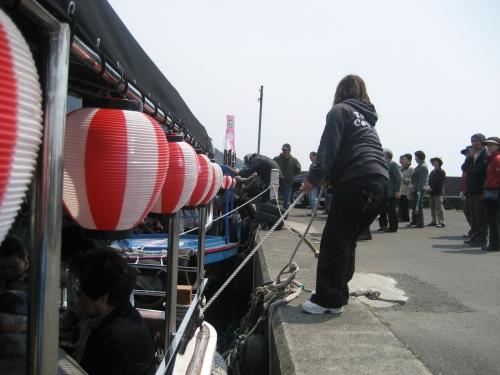 花見屋形船「大井丸」