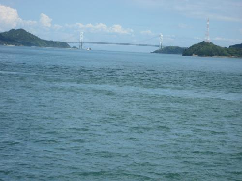 尾道から因島に渡る橋