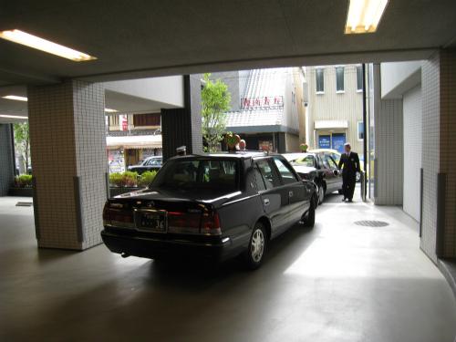 MKタクシーで三十三間堂へ