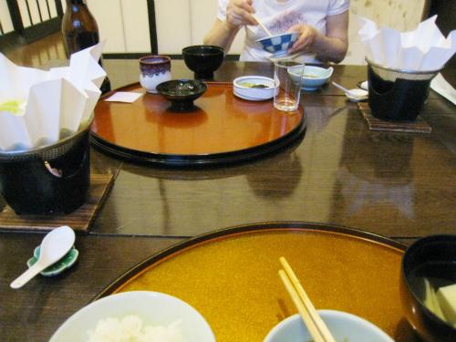 上山旅館のお料理
