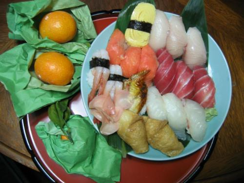 ホームメイド握り寿司