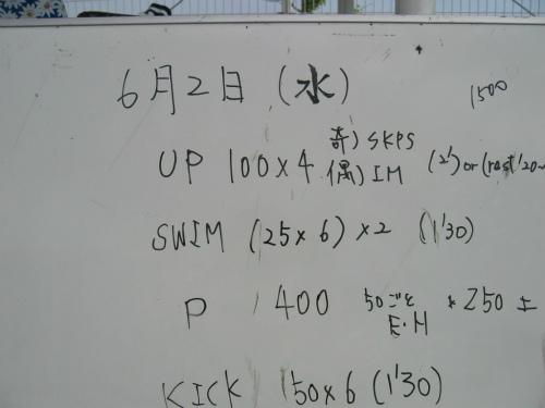 兵庫県立大水泳部 新入部員