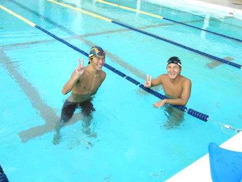 商大キャンパスの水泳部