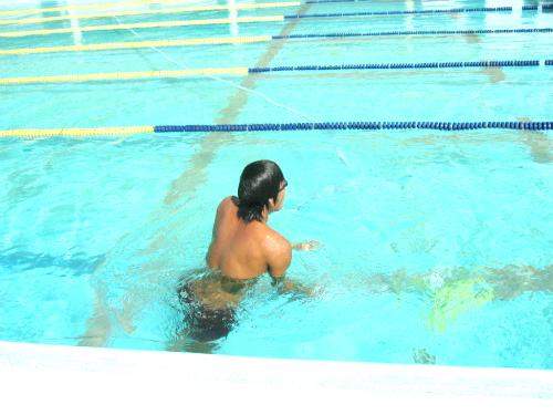 商大キャンパス水泳部~今年最後の野外練習~