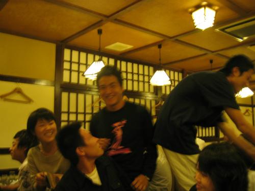 兵庫県立大学水泳部シーズンオフの納会